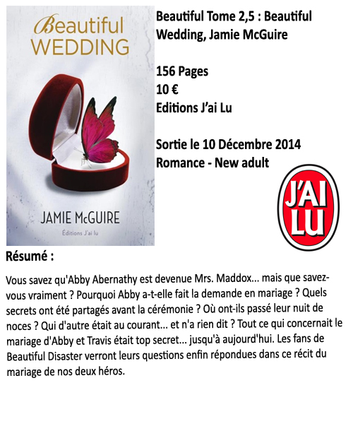 Beautiful Wedding, Jamie McGuire