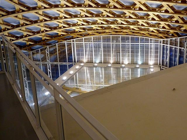 La charpente du Centre Pompidou-Metz 2 Marc de Metz 2011