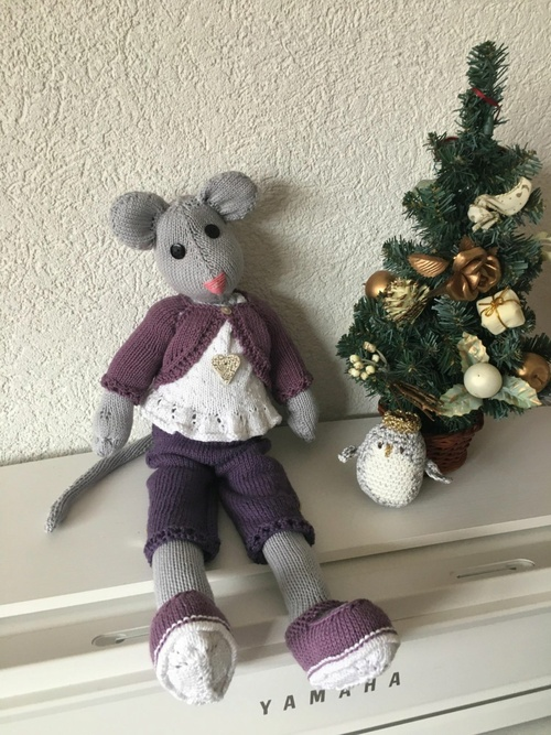 Animaux au tricot