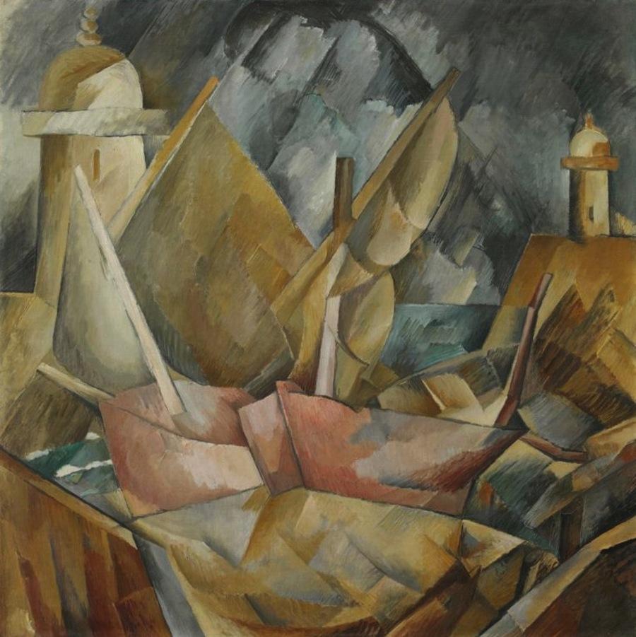 georges Braque (1882 _1963) / l'initiateur du cubisme