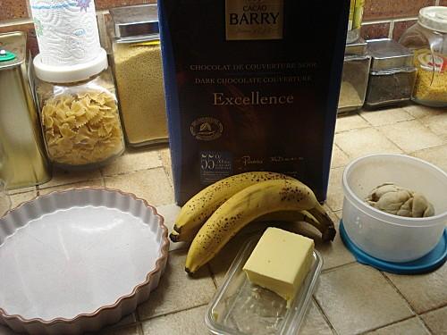 Tarte Tatin Bananes Chocolat