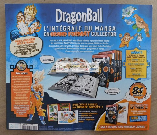 N° 1 Manga Dragon Ball - Test