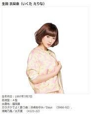 Morning Musume LIVE DAM Karaoke erina ikuta