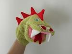 tuto marionnette dragon Riton
