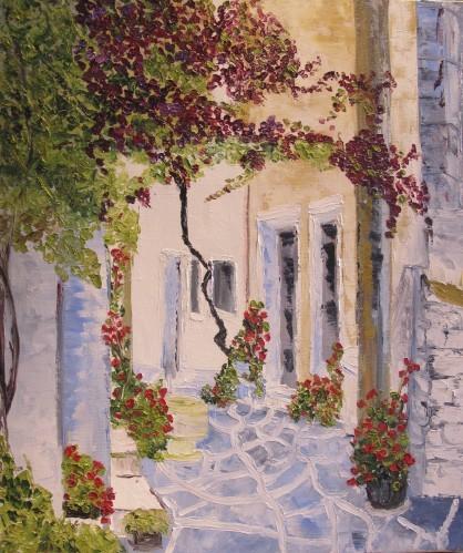 Ruelle à Mykonos