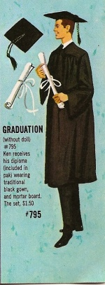 Barbie vintage : Graduation  (Barbie et Ken)