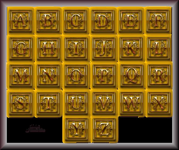 Tube Alphabets 2968