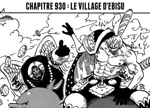 One Piece Scan chapitre 930 en VF Version Française - Lecture en Ligne