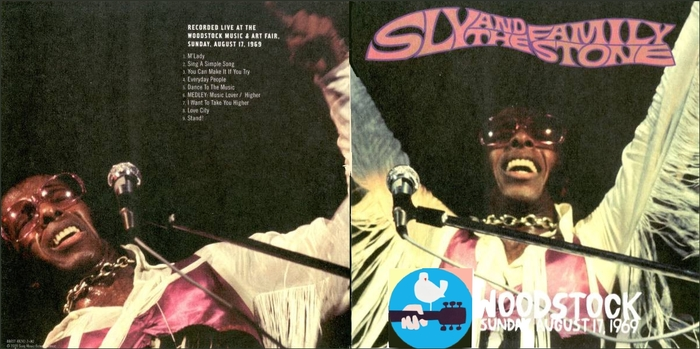 "Sly & The Family Stone : CD "" Live At The Woodstock Festival August 17, 1969 "" Soul Bag Records DP 153 [ FR ]"