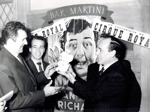 Jean Richard, homme de pub !  ( Bruxelles 1957)