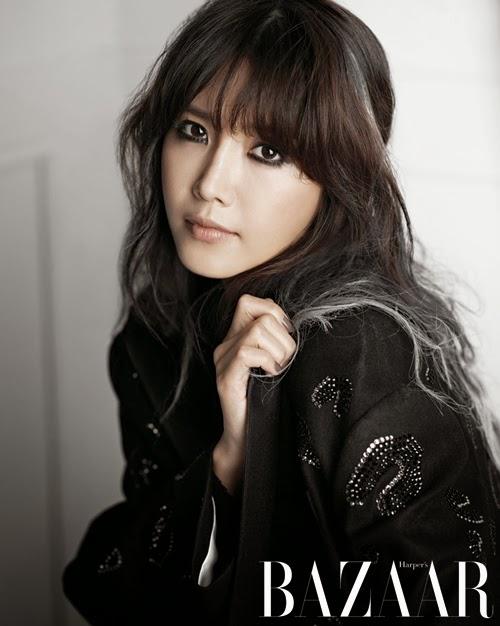 Chae Jung Ahn pour Harper's Bazaar