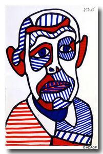 auto_portrait2_1966_dubuffet