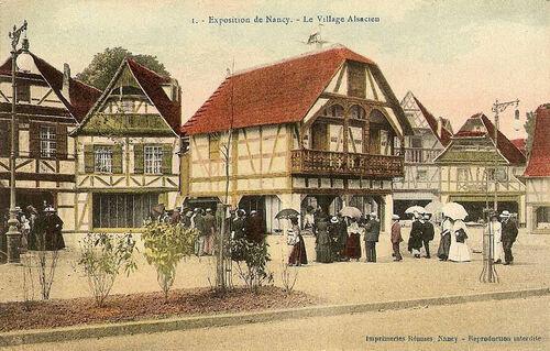 Nancy : l'expo aux 2,5 M de visiteurs ... C' était en 1909 !