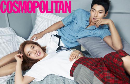 Son Dam Bi et Lee Yi Kyung pour Cosmopolitan