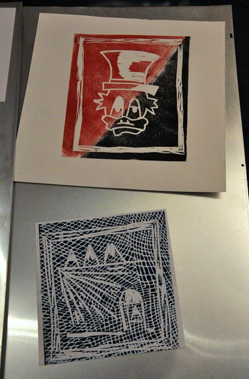 Atelier lino 09/03/13