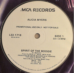 Alicia Myers - Spirit Of The Boogie