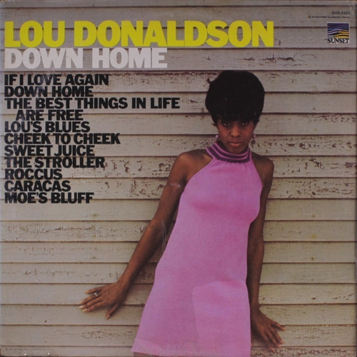 "Lou Donaldson : Album "" Quartet Quintet Sextet "" Blue Note Records 1537 [ US ]"
