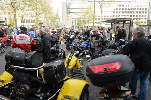 1300 motards en colère dans les rues du Grand Nancy