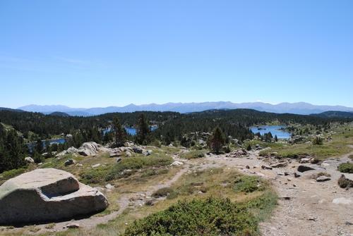 le tour des lacs