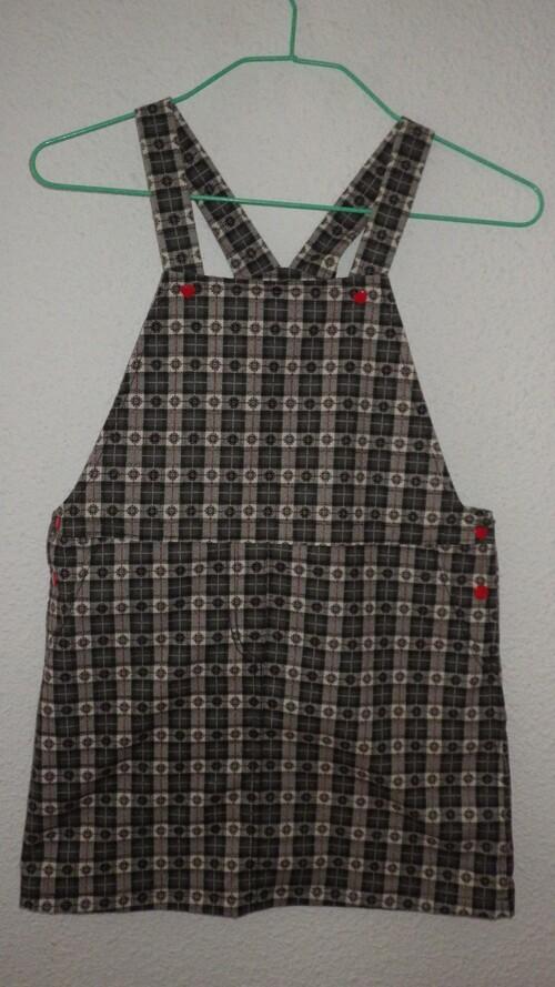 Une robe salopette pour le défi ottobre