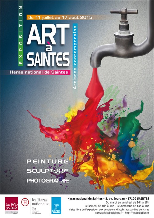 Exposition Art à Saintes