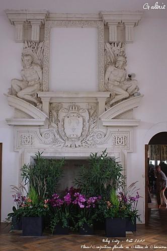 2011 aout chenonceau art floral 0