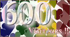 News du 09/02/14 : 600 visiteurs !!