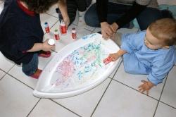 créations d'enfants chez nounou