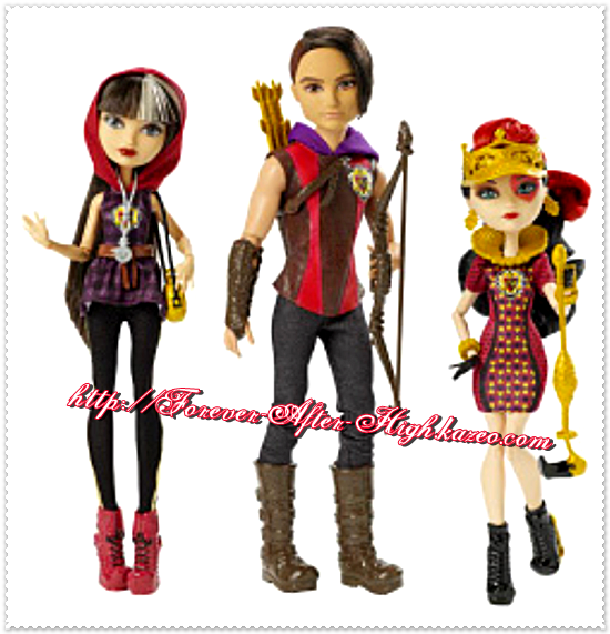 ever-after-high-tri-castle-on-3-pack-cerise-hood-hunter-huntsman-lizzie-hearts