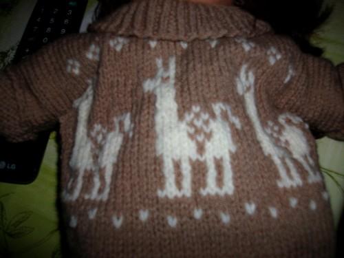 Capucine et sa robe d'hiver !