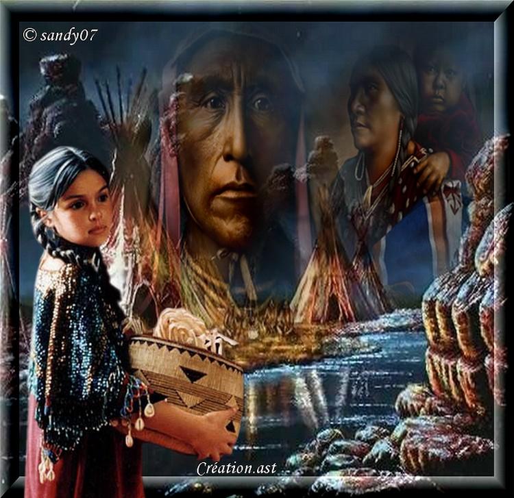 Création... Amérindienne