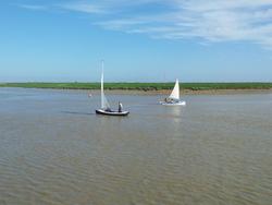 Défi des trois pertuis en flotille
