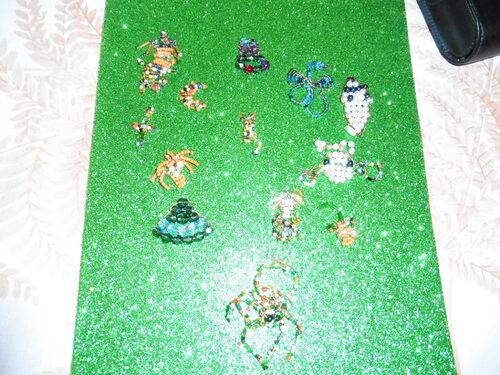 créations de perles en 3d et plat