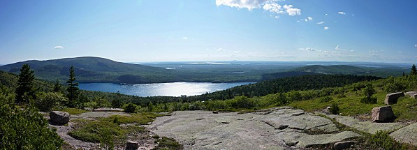 Acadia NP Eagle Lake Panorama