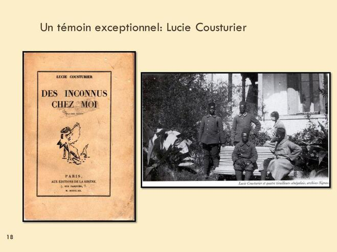 Lucie Cousturier, peintre, écrivain, et militante anti-colonialiste