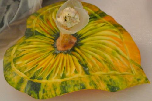 sculpture sur légumes
