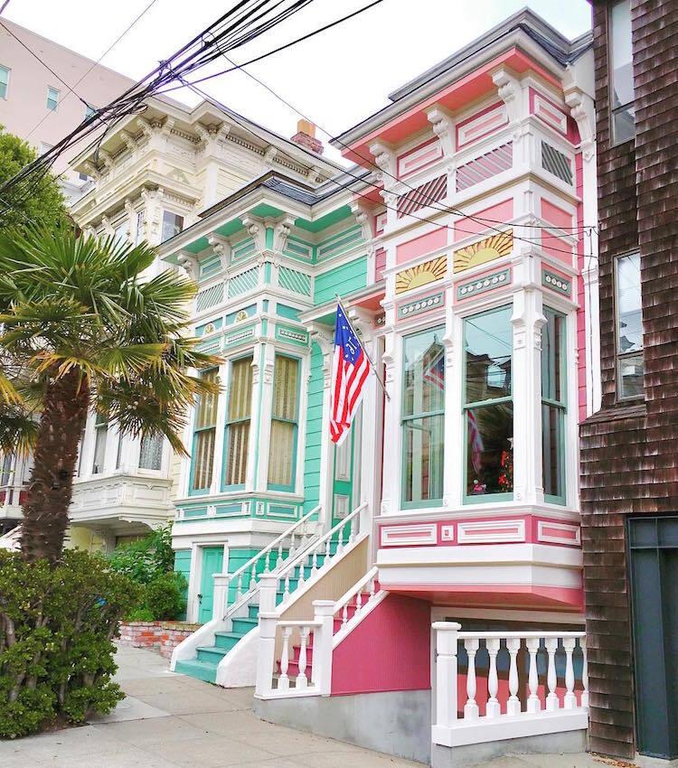 Les-maisons-en-couleurs-de-San-Francisco-15 Les maisons en couleurs de San Francisco