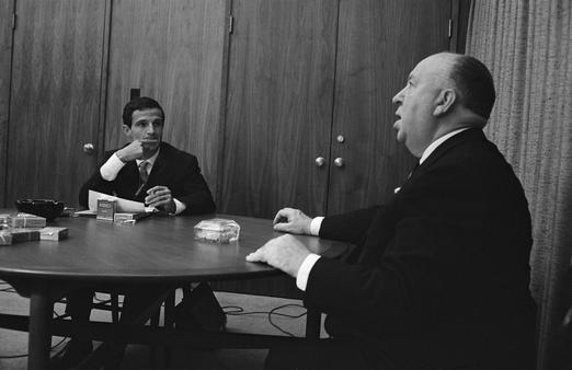 Hitchcock interrogé par Truffaut en 1962 pour le livre Hitchcock/Truffaut