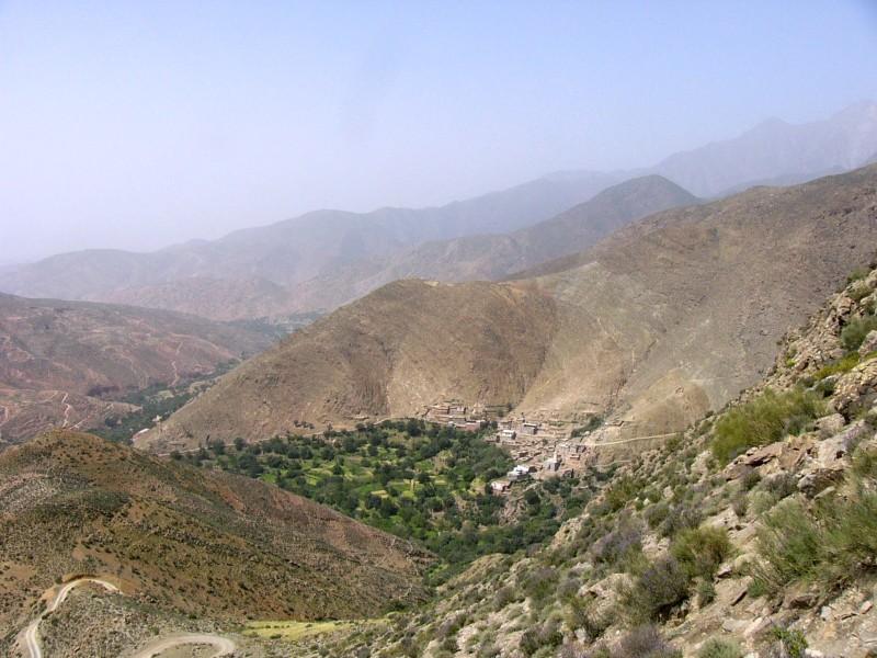Taroudant-Marrakech par le col de Tizi-n-Test (1)