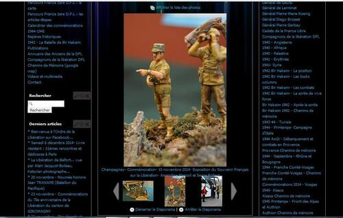 * Nouveau :  Photothèque des commémorations de la campagne des Vosges 201 sur le blog
