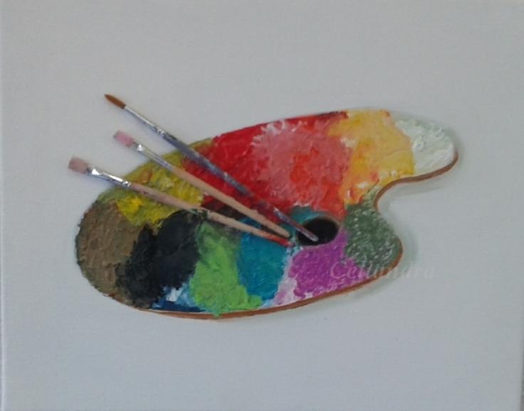 ¨Peintures : Palette