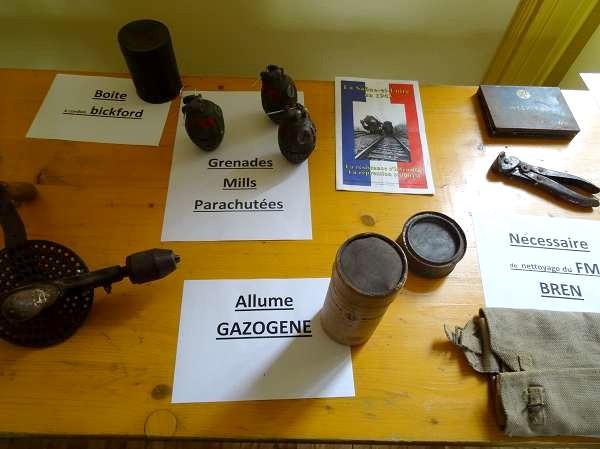 Une exposition sur la Résistance, les parachutages, les soldats, la Libération à Courban...