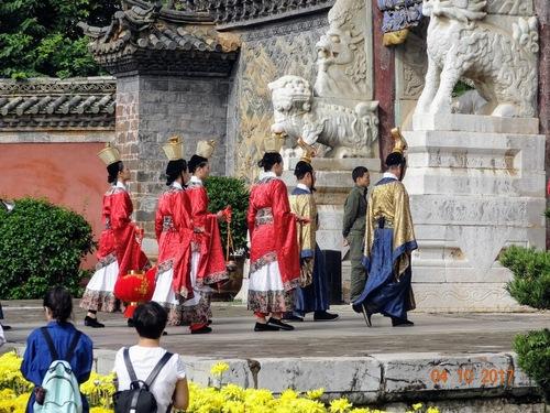 une fête en hommage à Confucius