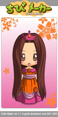 Chibi princesse hana