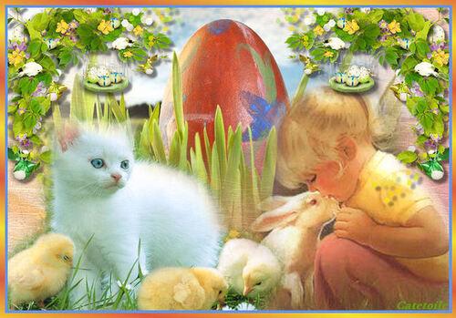 Heureuses fêtes de Pâques à tous !
