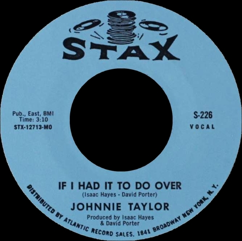 "Johnnie Taylor : Album "" Wanted - One Soul Singer "" Stax Records S 715 [ US ]"