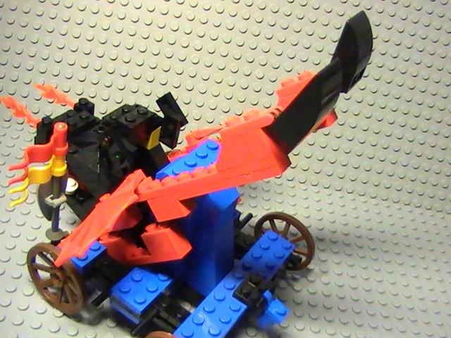 Légo 6043 de 1994 - Dragon défender.