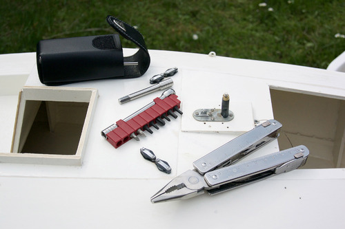 Couteau-outil Victorinox Swisstool X plus