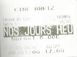 Mardi 25 Juillet 2006