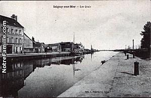 cartes-postales-photos-Les-Quais-ISIGNY-SUR-MER-14230-4920-